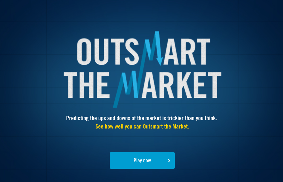 can you outsmart the market?